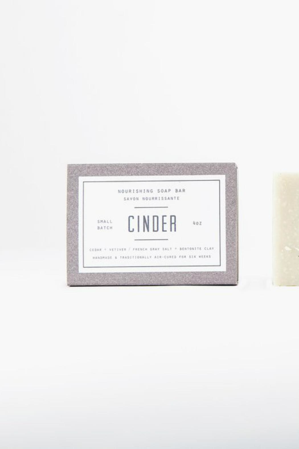 Woodlot Cinder Soap Bar - Main Image