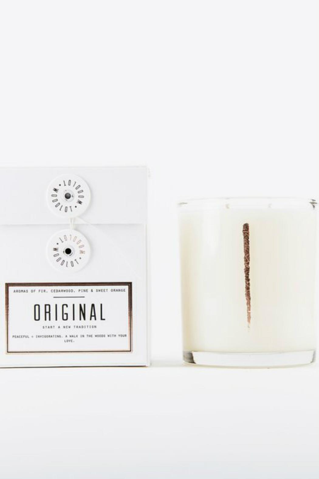 Woodlot Original Candle - Front Full Image