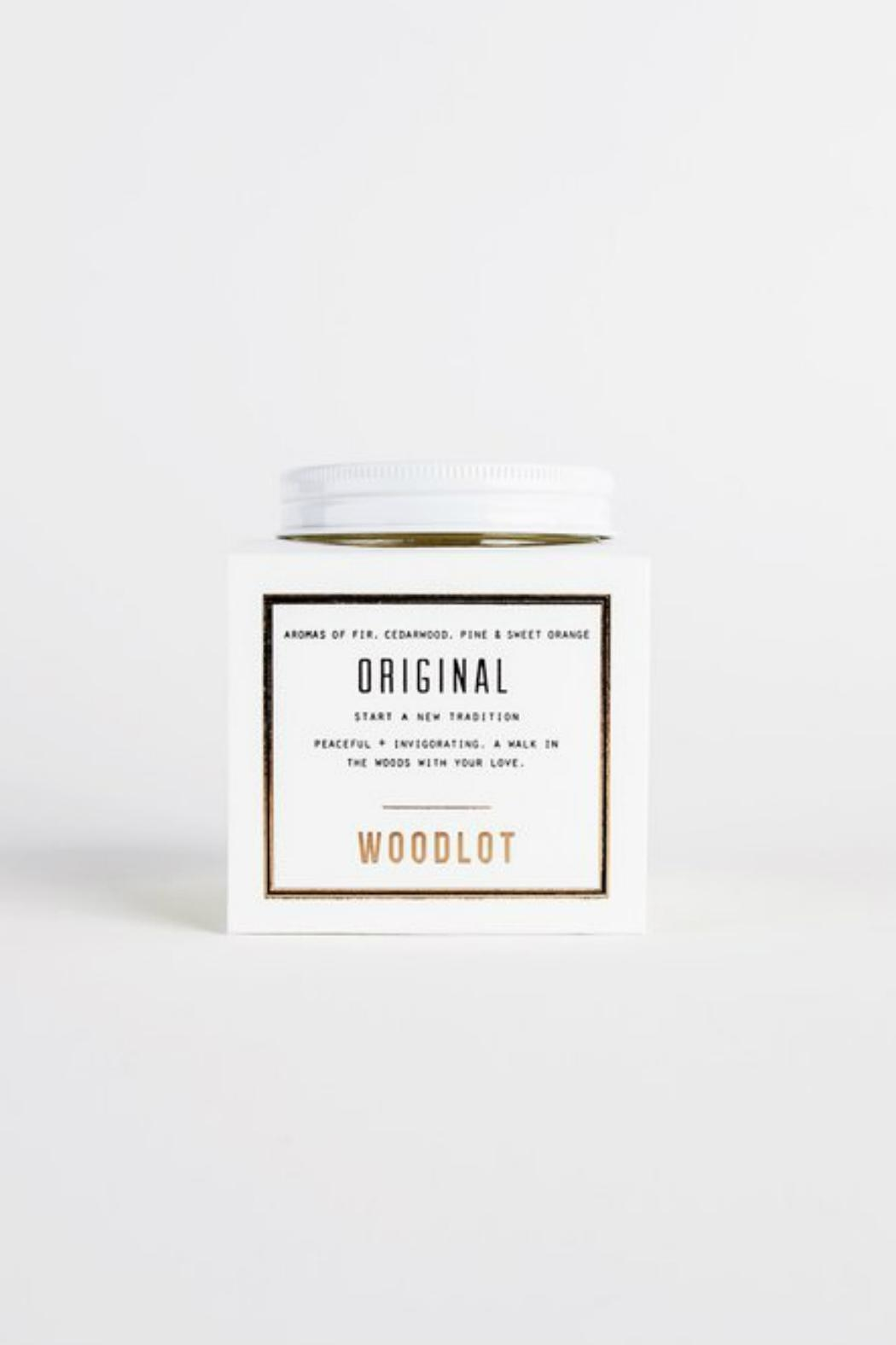 Woodlot Original Jar Candle - Main Image