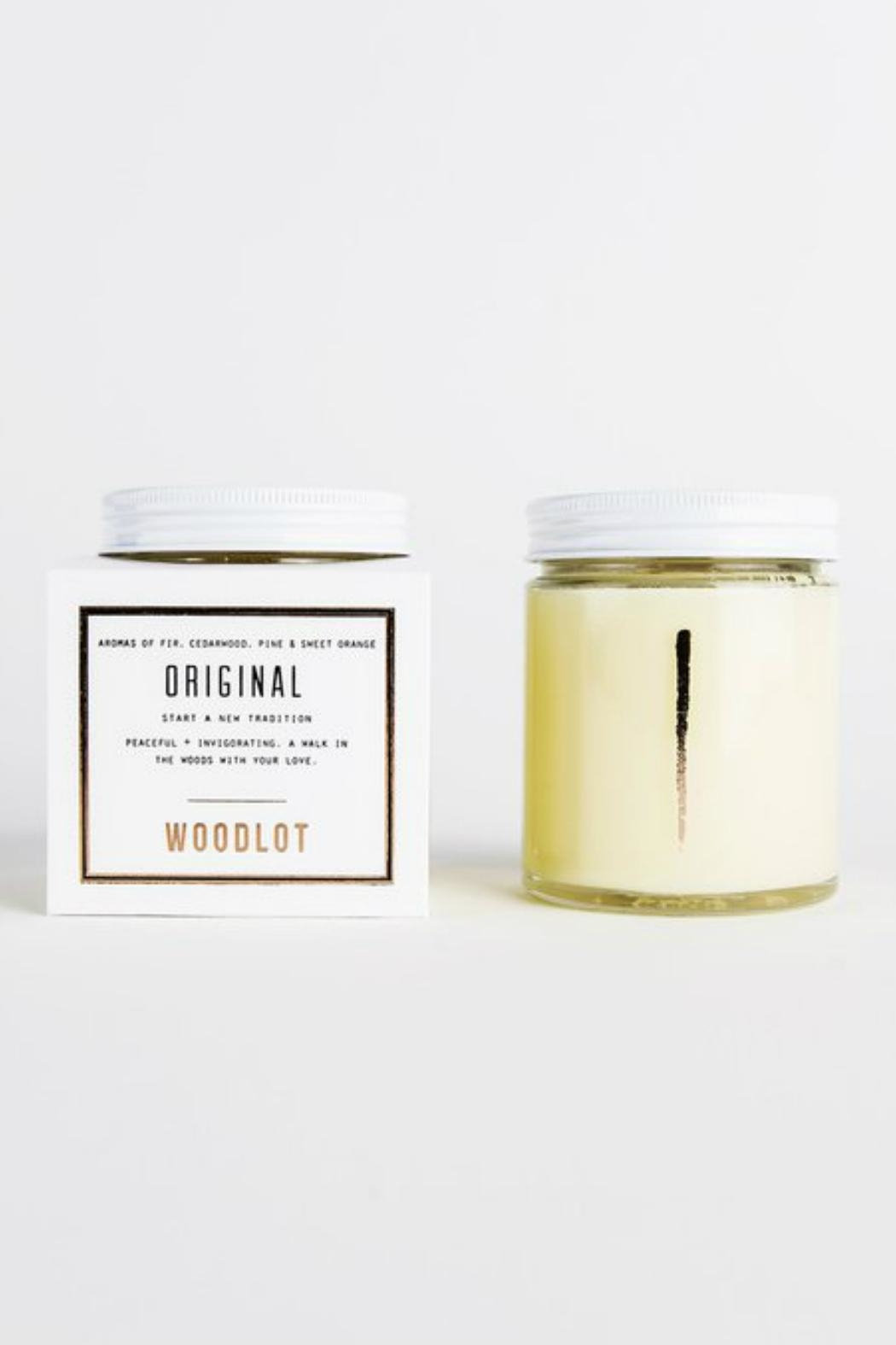 Woodlot Original Jar Candle - Front Full Image
