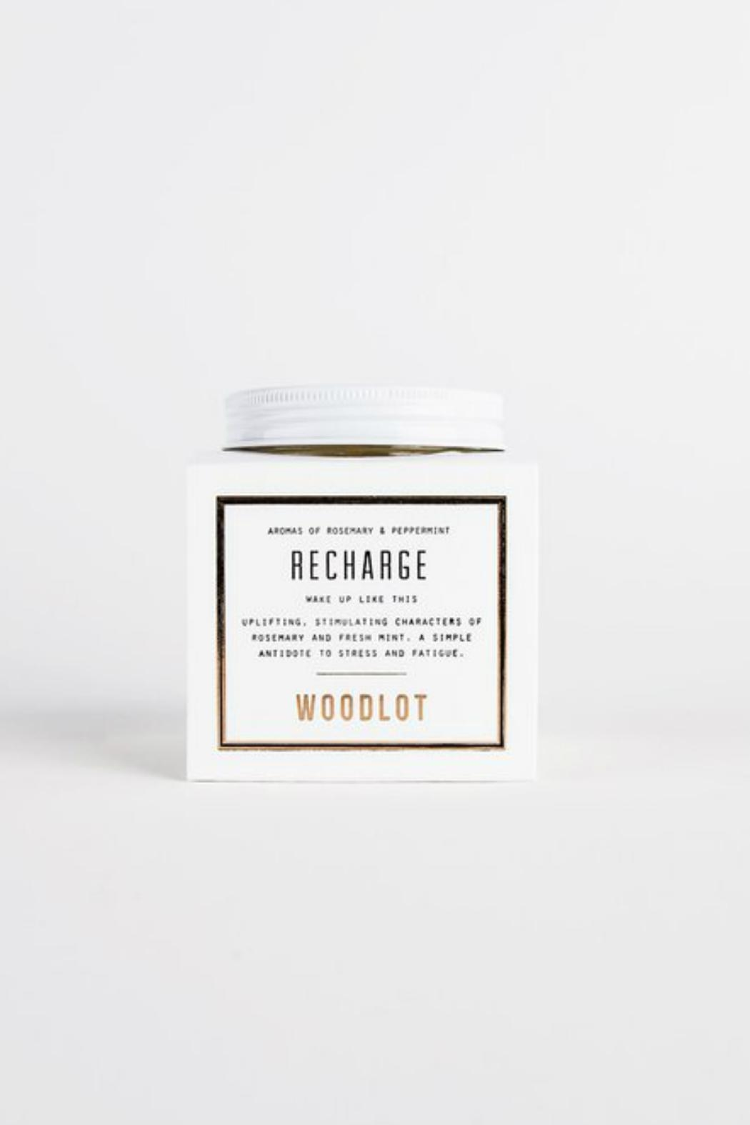 Woodlot Recharge Jar Candle - Front Cropped Image