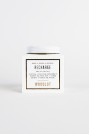 Woodlot Recharge Jar Candle - Front cropped