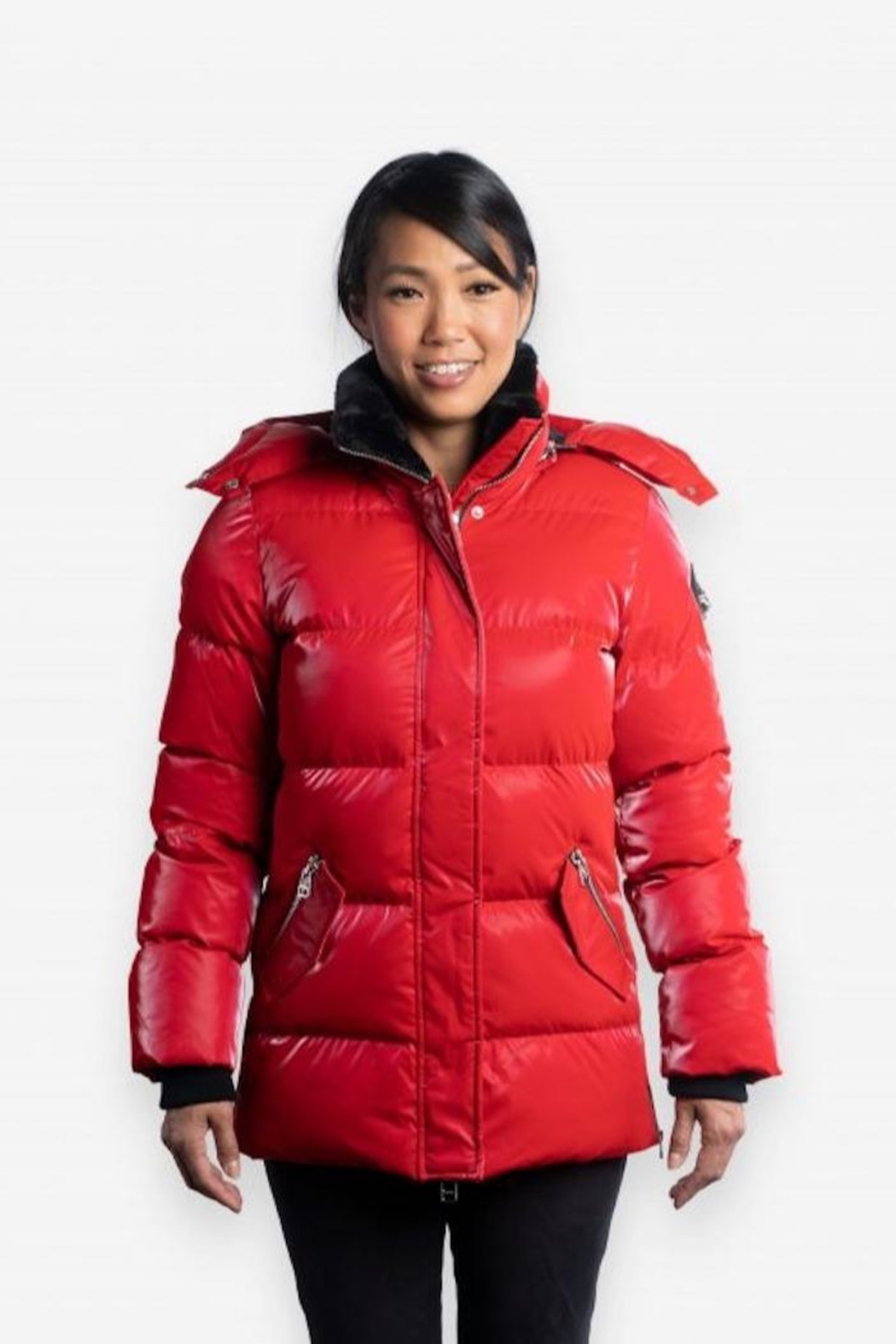 Woodpecker Bumnester Ladies 3/4 Parka - Front Cropped Image