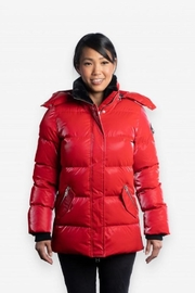 Woodpecker Bumnester Ladies 3/4 Parka - Front cropped