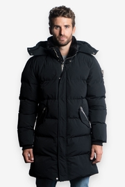 Woodpecker Penguin Men's Long Parka - Product Mini Image
