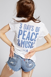 Recycled Karma Woodstock Peace Tee - Front full body