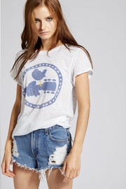 Recycled Karma Woodstock Peace Tee - Front cropped