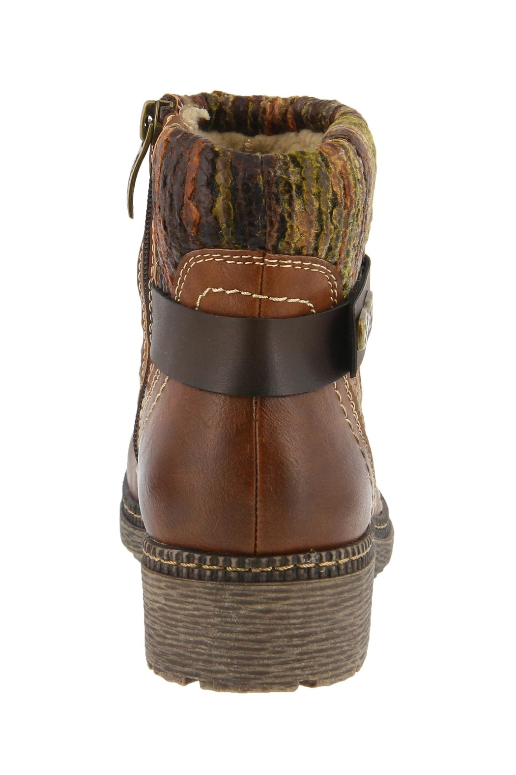 Spring Footwear Woodsy Winter Bootie - Front Full Image