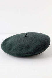 Olive & Pique Wool Beret - Front full body