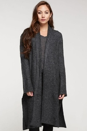 Love Stitch Wool Blend, Long Sleeve Duster - Front full body