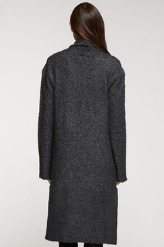 Love Stitch Wool Blend, Long Sleeve Duster - Alternate List Image