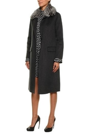 Michael Kors Wool Coat-Fur Trim - Product Mini Image
