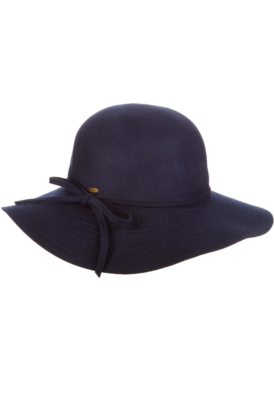 Scala Wool Floppy Hat - Front Cropped Image