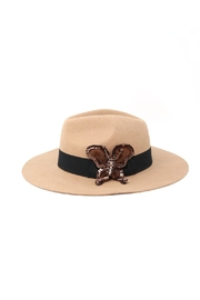 Nadya's Closet Wool Panama Hat - Product Mini Image