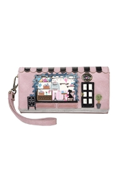 Vendula London Wool-Shop Flap Wallet - Product Mini Image