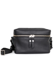 Woolfell Leather Box Purse - Front cropped