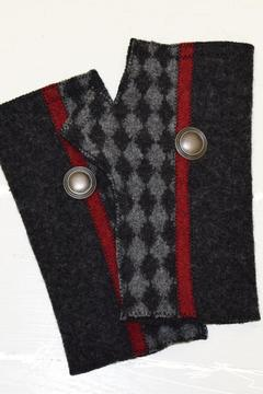 Shoptiques Product: Fingerless Diamond Gloves