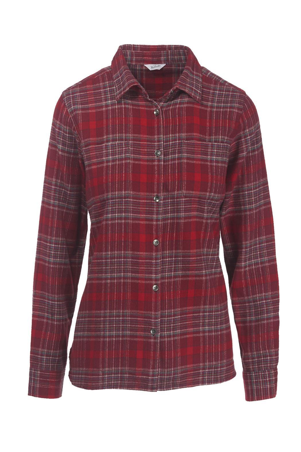 Woolrich Pemberton Flannel Shirt - Front Full Image