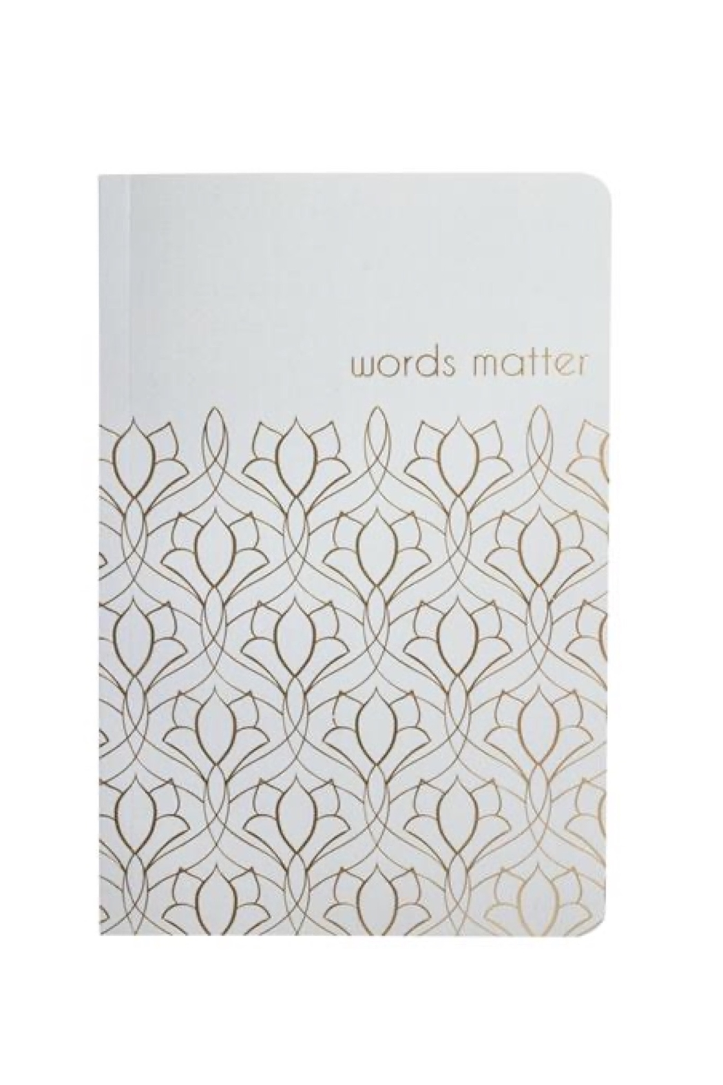 Karma Living Words Matter Notebook - Main Image