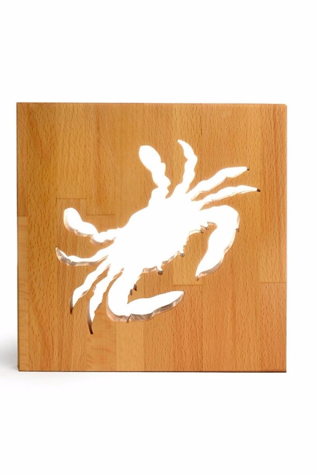 Words With Board Crab Trivet - Main Image