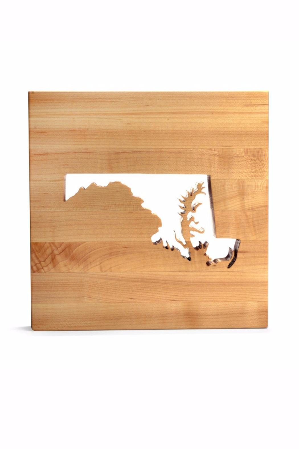 Words With Board Maryland Trivet - Main Image