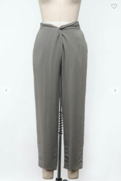 Final Touch Work It Twist Front Pant - Product List Image
