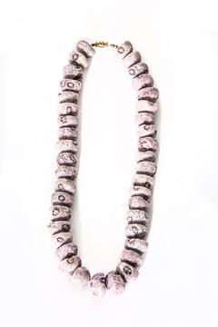 Working Actress Productions Lavender Rock Necklace - Alternate List Image