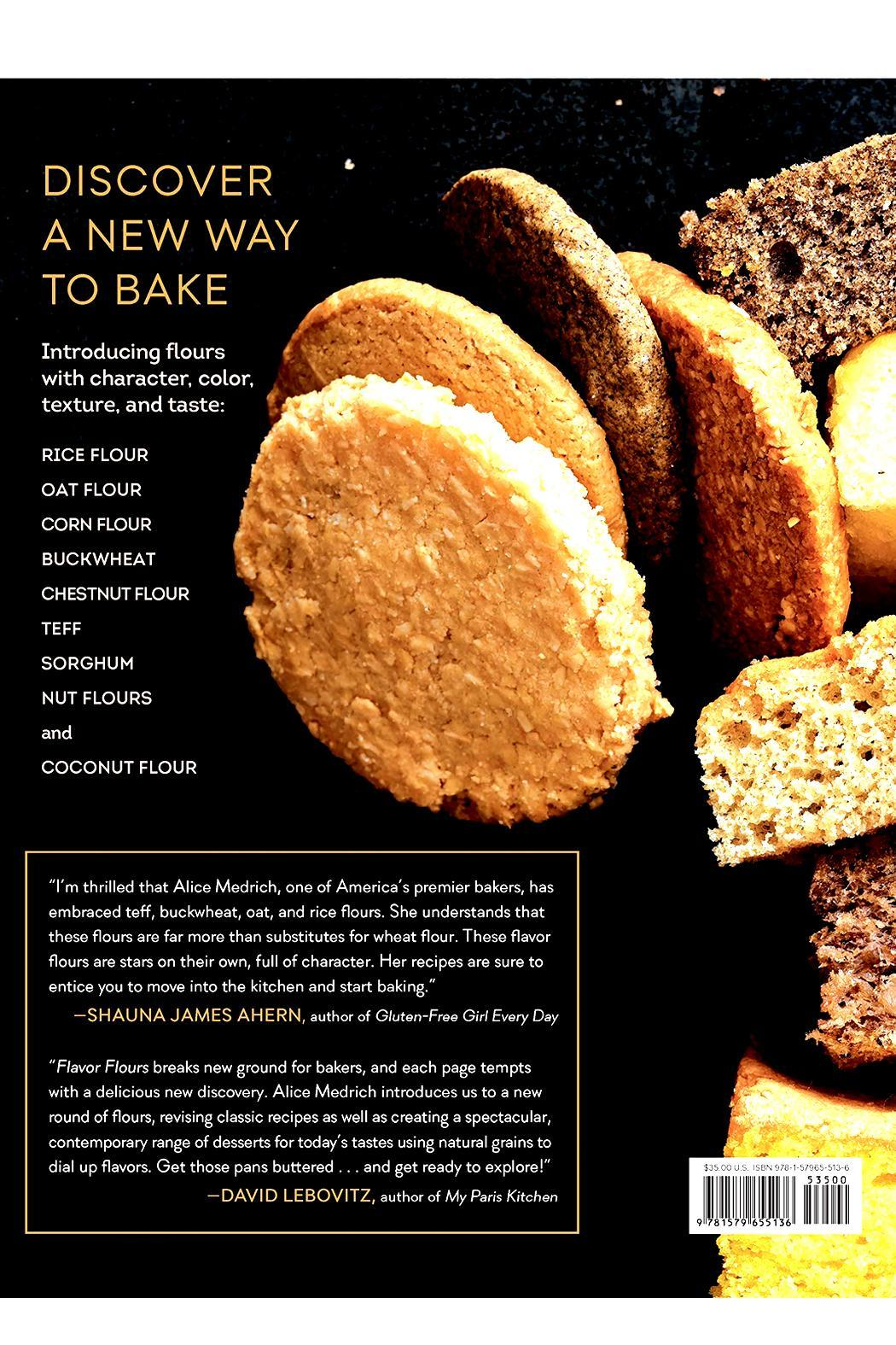 Workman Publishing Flavor Flours Book - Front Full Image