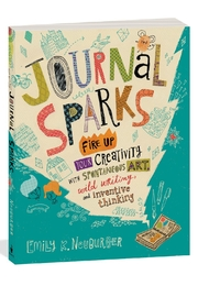 Workman Publishing Journal Sparks - Front cropped