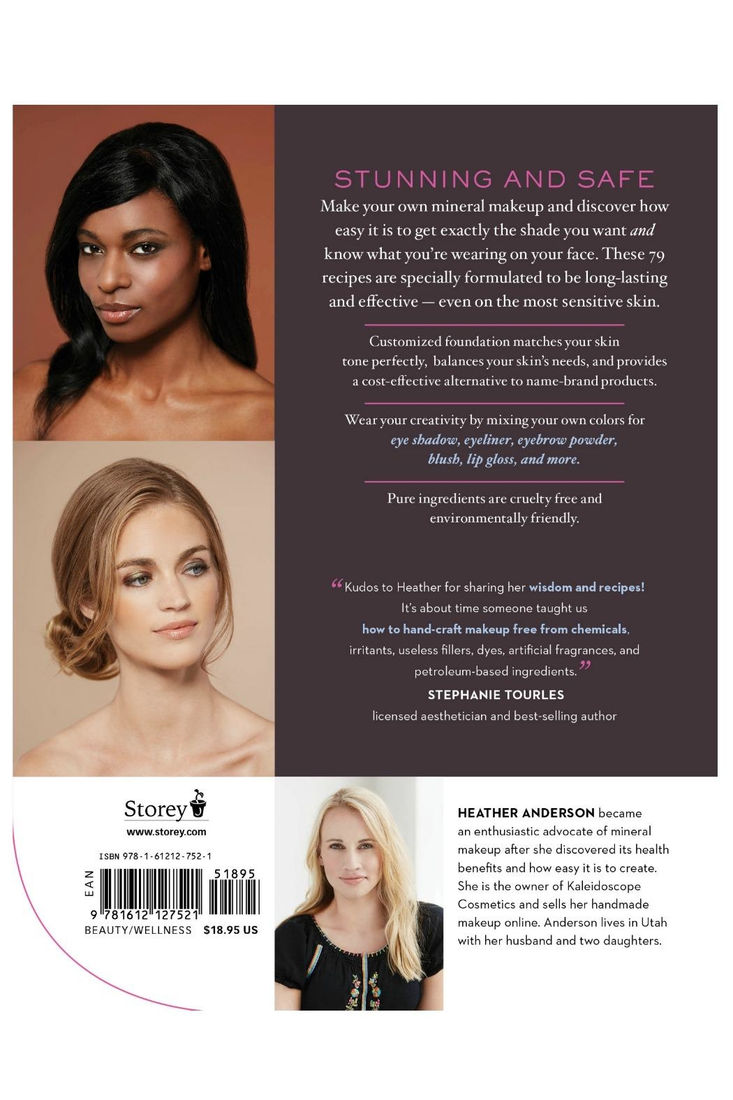 Workman Publishing Mineral Makeup Book - Front Full Image