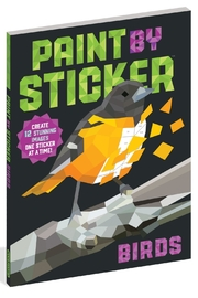 Workman Publishing Paint-By-Sticker Birds - Product Mini Image