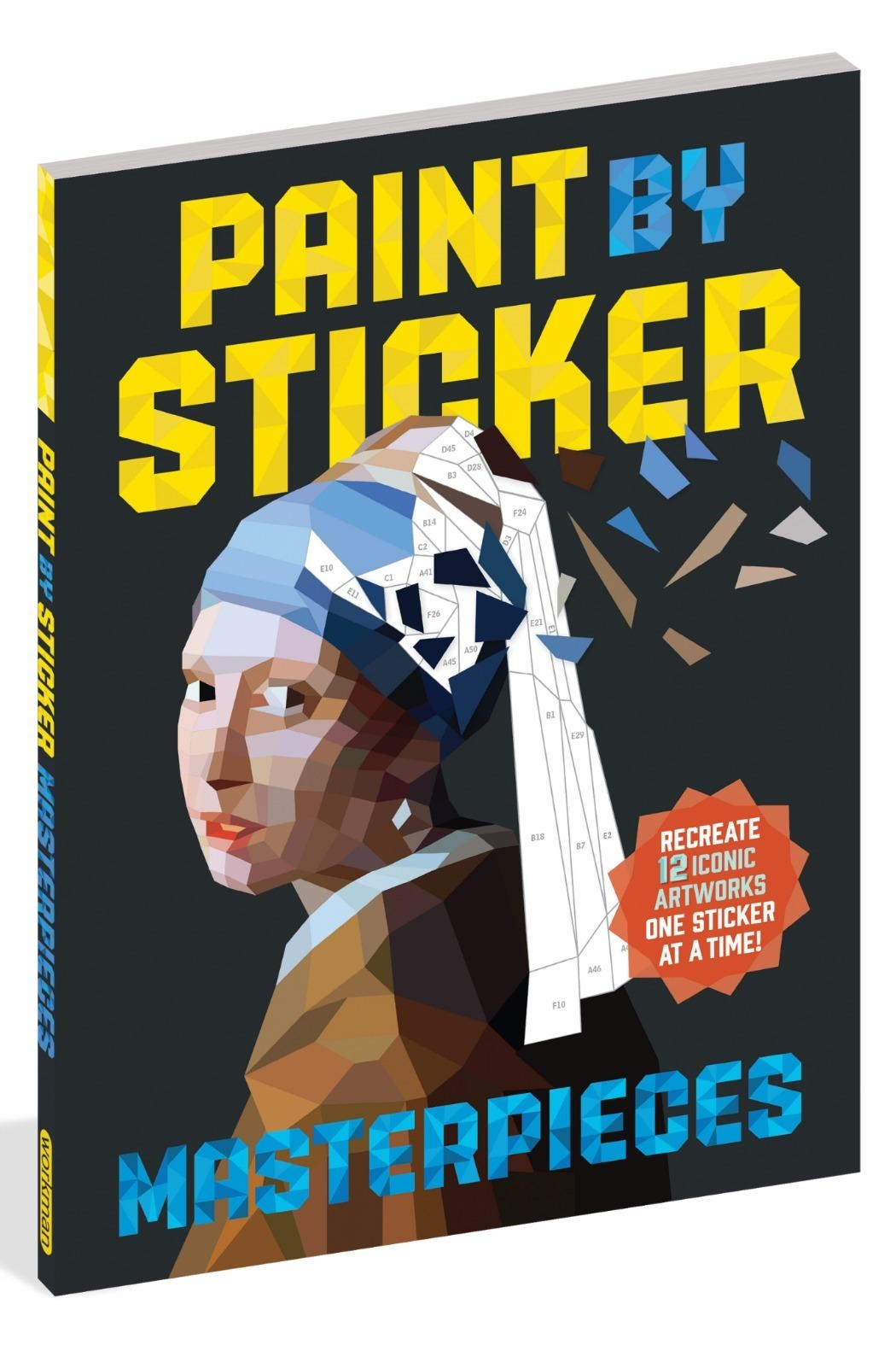 Workman Publishing Paint-By-Sticker Masterpieces - Main Image