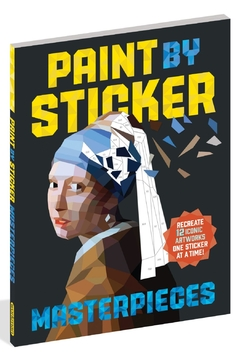 Workman Publishing Paint-By-Sticker Masterpieces - Product List Image