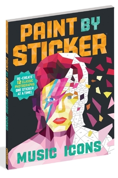 Shoptiques Product: Paint-By-Sticker Music Icons