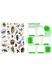 Workman Publishing Sticky Facts Animals - Front full body