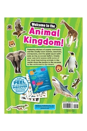 Workman Publishing Sticky Facts Animals - Back cropped
