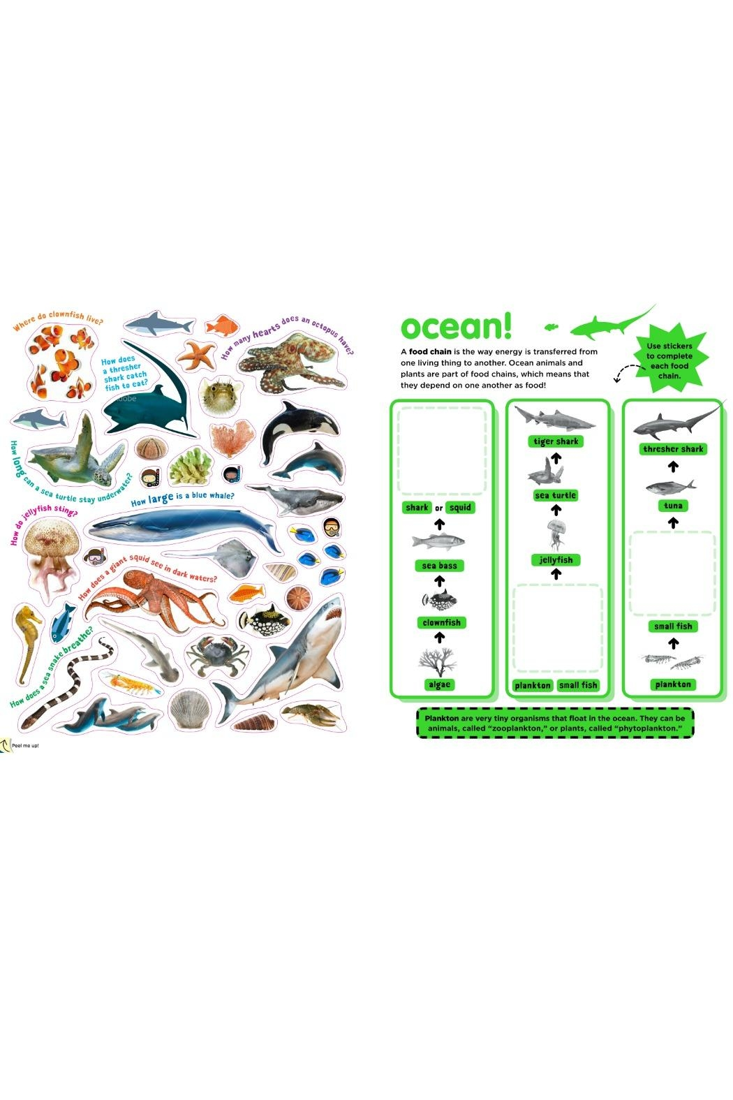 Workman Publishing Sticky Facts Animals - Side Cropped Image