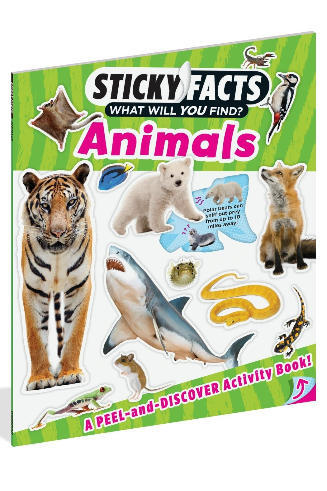 Workman Publishing Sticky Facts Animals - Front Cropped Image