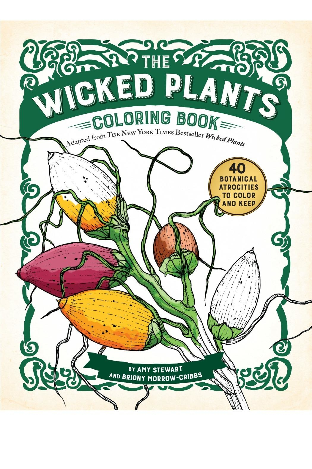 Workman Publishing Wicked-Plants Coloring Book - Main Image