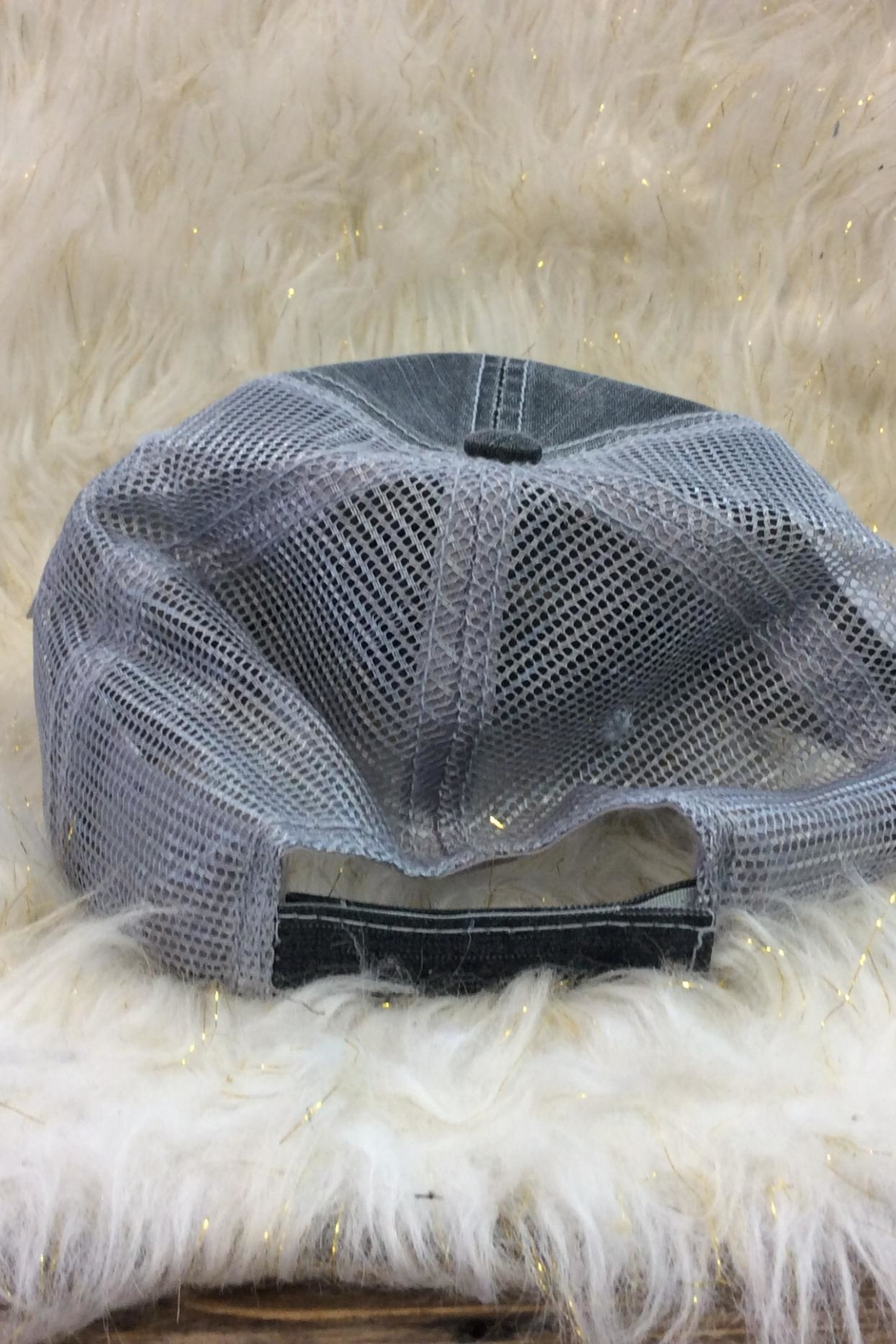 KATYDID Workout Hair Hat - Front Full Image