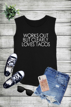 Caramelo Trend Works Out But Clearly Loves Tacos - Alternate List Image