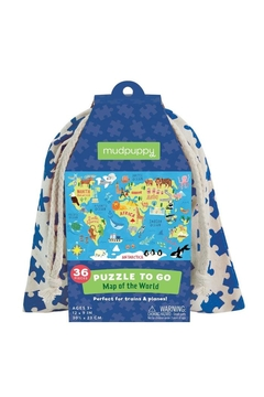 Shoptiques Product: World Map Puzzle-To-Go