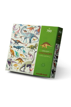 Crocodile Creek World Of Dinosaurs 750 Piece Family Puzzle - Product List Image