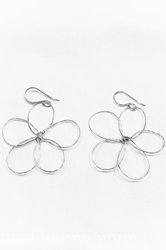 WorldFinds Outlined Flower Earrings - Product List Image