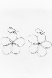 WorldFinds Outlined Flower Earrings - Product Mini Image