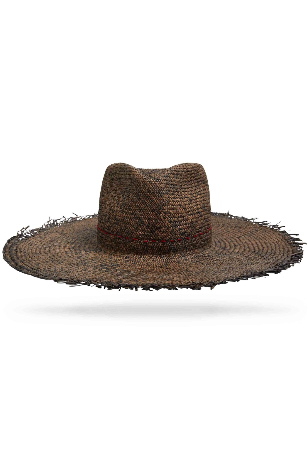 Worth & Worth Santa Fe Brown Hat - Front Cropped Image