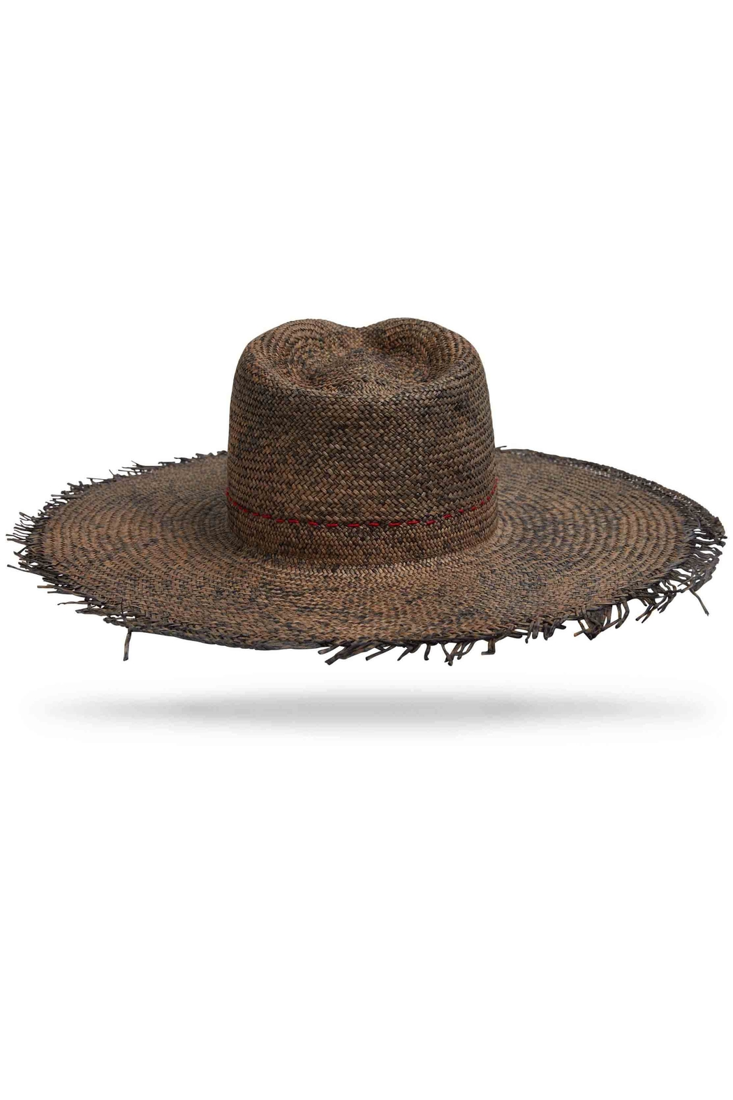 Worth & Worth Santa Fe Brown Hat - Side Cropped Image