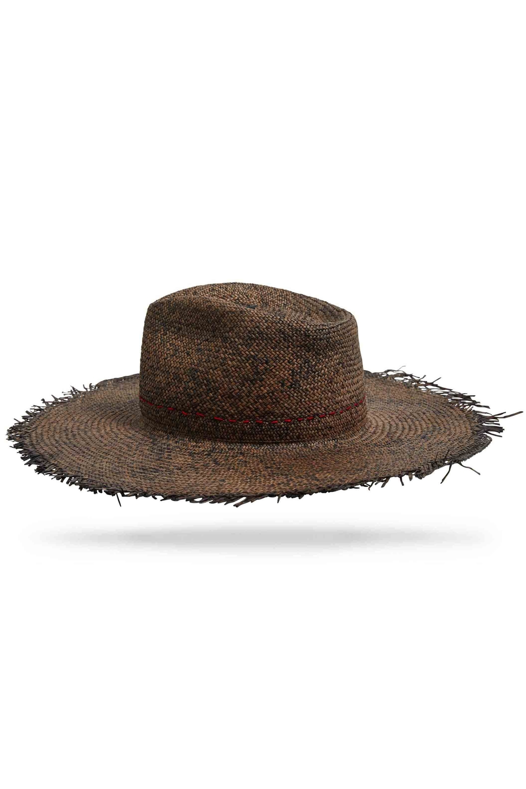 Worth & Worth Santa Fe Brown Hat - Front Full Image