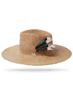 Worth & Worth Sunset Straw Hat - Alternate List Image