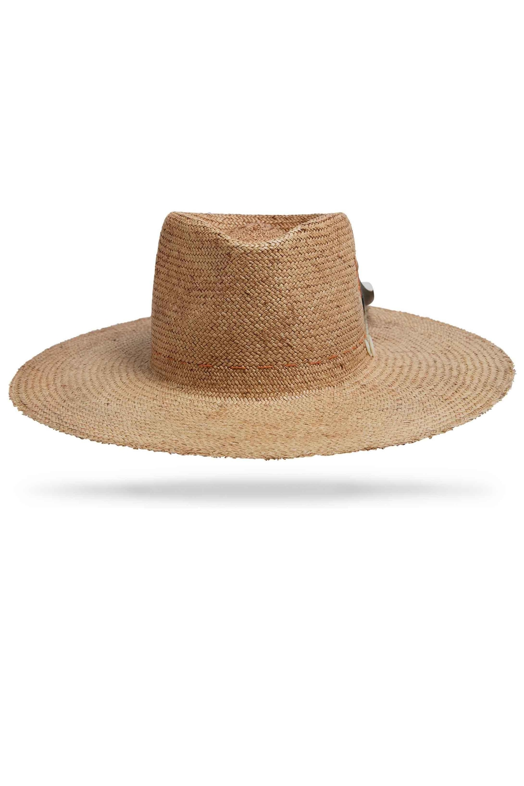 Worth & Worth Sunset Straw Hat - Front Cropped Image